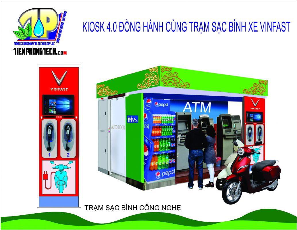 dự án oraido cố vấn - kiosk đa năng kết hợp wc tự động
