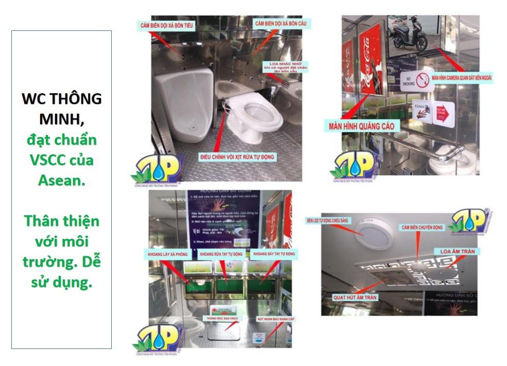 nhà wc công cộng đạt chuẩn ASEAN