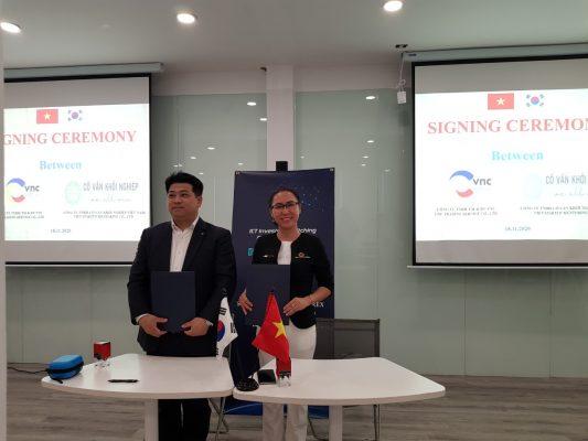 Hợp tác chiến lược xúc tiến thương mại Việt Hàn - VNC_Cố vấn khởi nghiệp việt nam _3