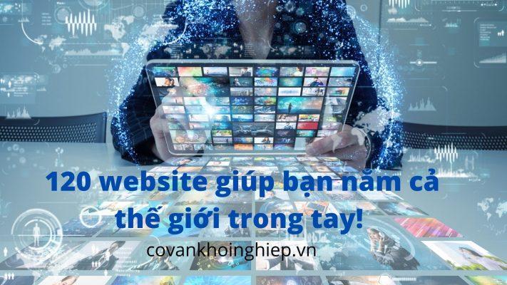 120 website hữu ích - covankhoinghiep.vn