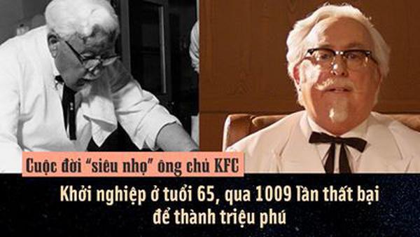 ông chủ KFC và giấc mơ khởi nghiệp ở tuổi 65 - cố vấn khởi nghiệp