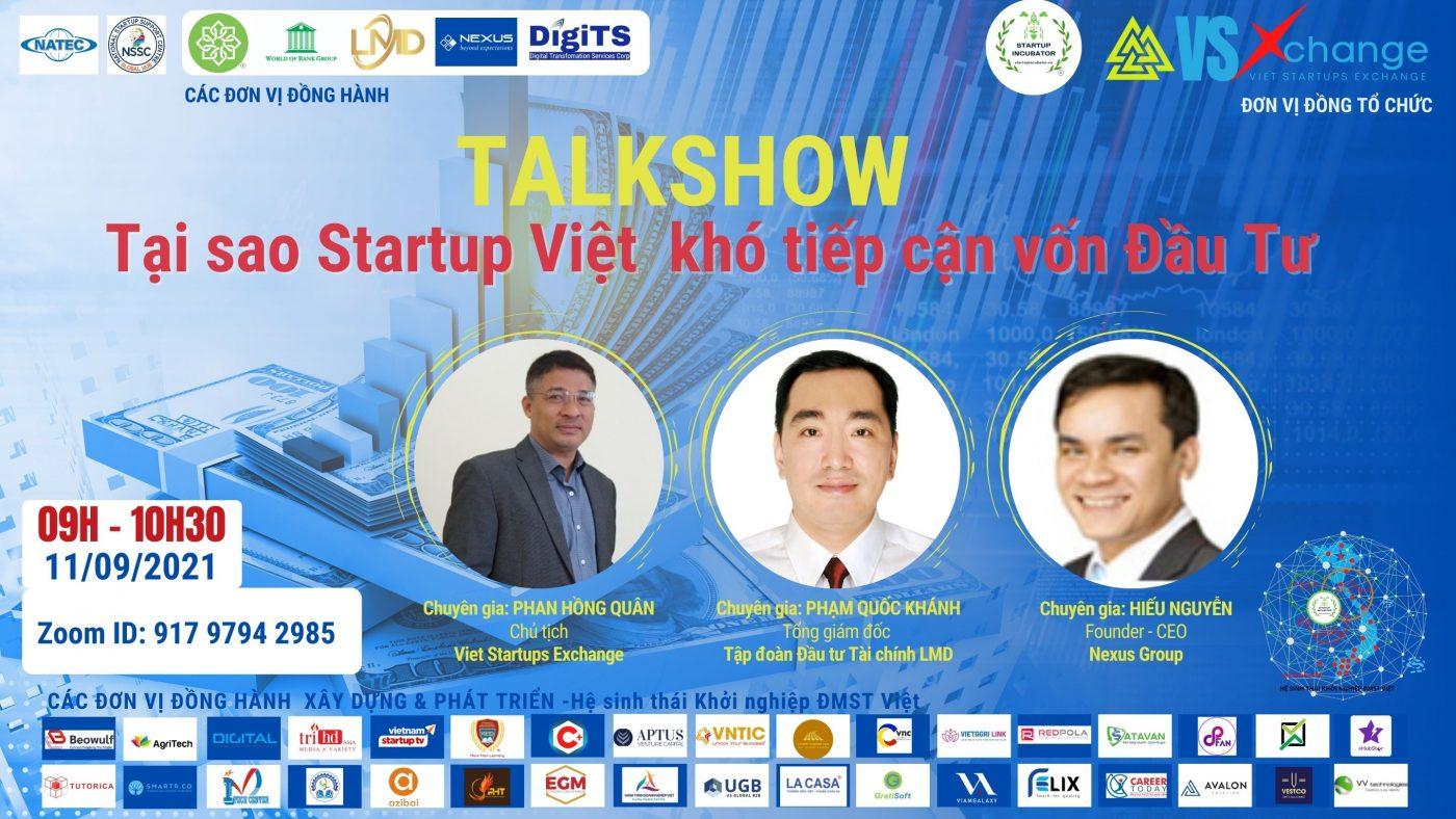 Tại sao Startup Việt khó tiếp cận vốn đầu tư? - Covankhoinghiep.vn