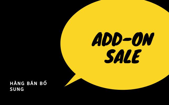 mô hình kinh doanh Add-on-Sales - hàng bán bổ sung - cố vấn khởi nghiệp - oraido mentor