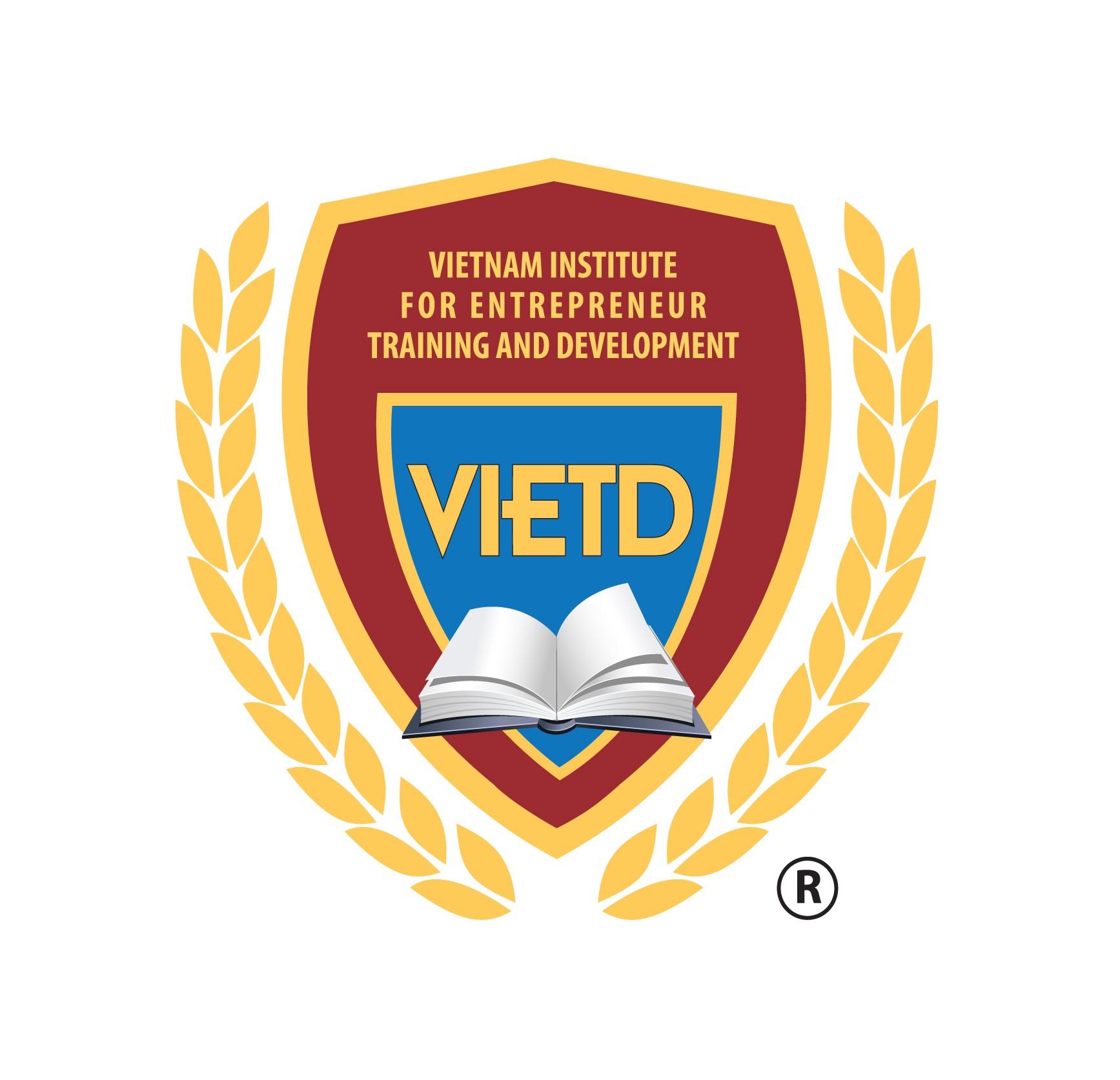 Logo VIETD - Viện đào tạo & Phát triển Doanh nhân Việt Nam