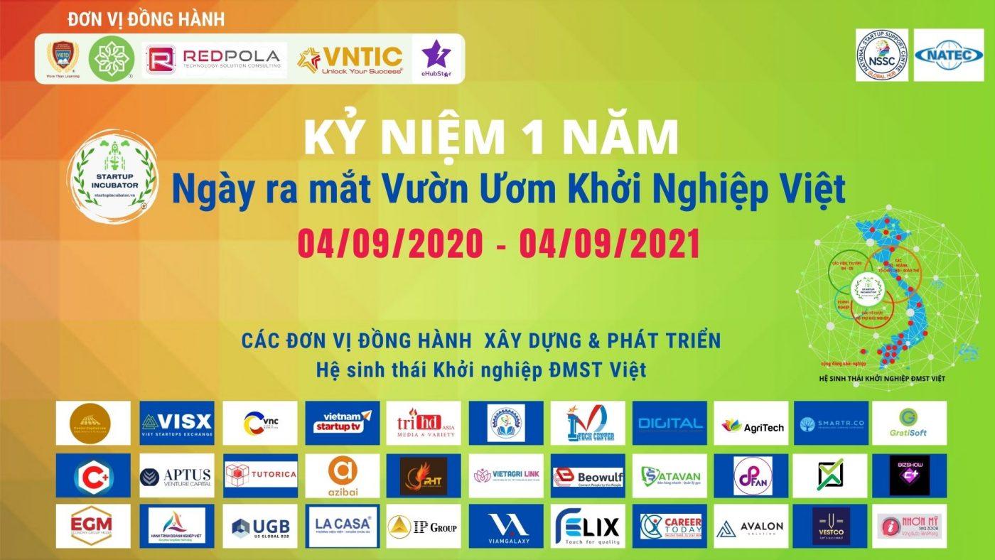 Hành trình 365 ngày Kiến tạo Vườn Ươm Khởi Nghiệp Việt - Covankhoinghiep.vn